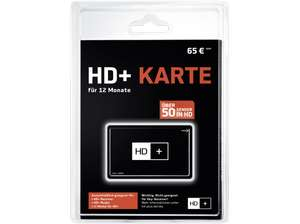 [saturn online] HDPLUS SMART 12 Monate HD+ Karte, Schwarz - 55,00 bzw 53,61 (Shoop)