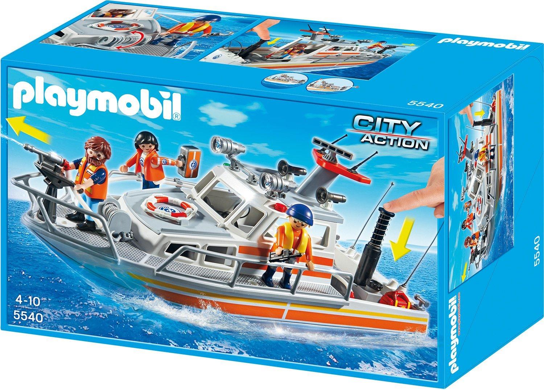 [amazon.de Prime] Playmobil City Action - Lösch-Rettungskreuzer für 19,77€ anstatt 34€