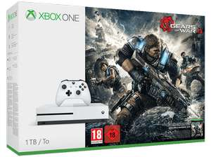 MICROSOFT Xbox One 1TB & Gears of War 4 & Dishonored 2 [nur Abholung im Markt!]