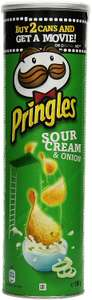 [amazon.de Prime ] Pringles Sour Cream and Onion, 4er Pack (4 x 190 g) für 5,56€ inkl. Versand