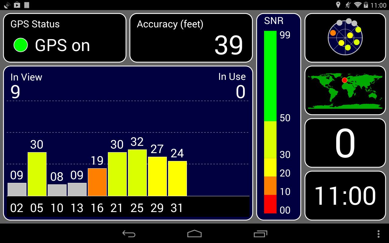 "Android: ""GPS Test Plus Navigation"" App im Sale für 1,39€"