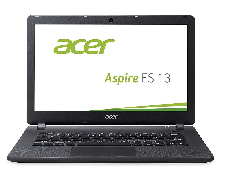 [Amazon WHD - Sehr gut]  Acer Aspire ES 13 (ES1-331-P4C1) 33,78cm (13,3 Zoll) Notebook (HD, Intel Quad Core N3700 4GB RAM, 500GB HDD, Intel HD Graphics, Win 10 Home) schwarz