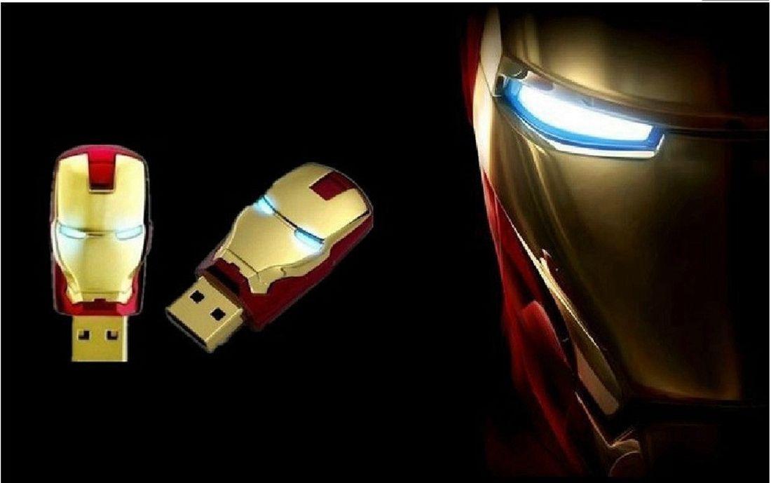 [EBAY] Iron Man - LED- USB 32GB für