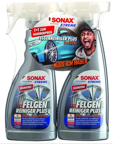 2x Sonax Felgenreiniger XTREME Plus 500ml