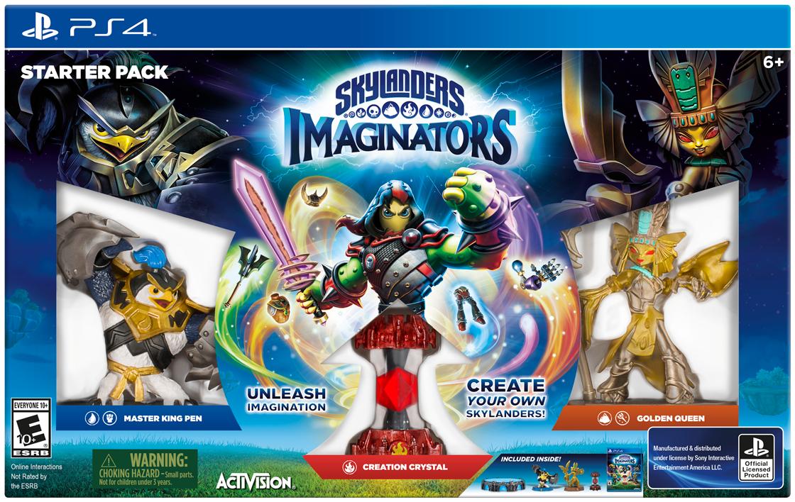 Amazon.de - Skylanders Imaginators Starter Pack PS4/PS3/WiiU