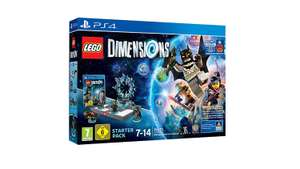 Amazon /  LEGO Dimensions Pakete z.B. - Starter Pack + Supergirl Figur PS4