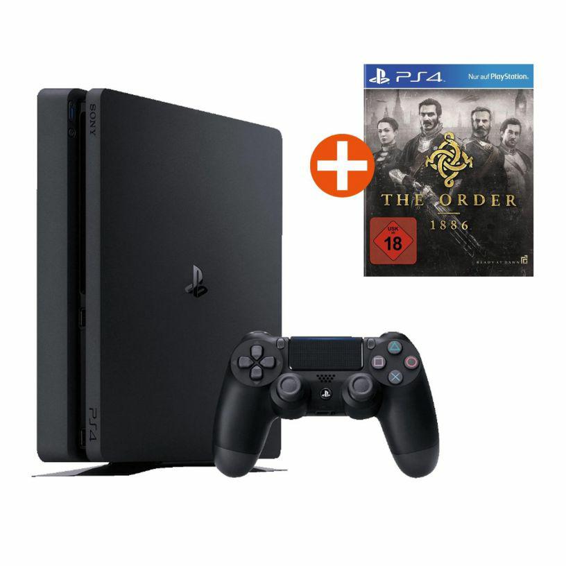cyberport - Sony PlayStation 4 Slim 500GB Konsole + The Order: 1886