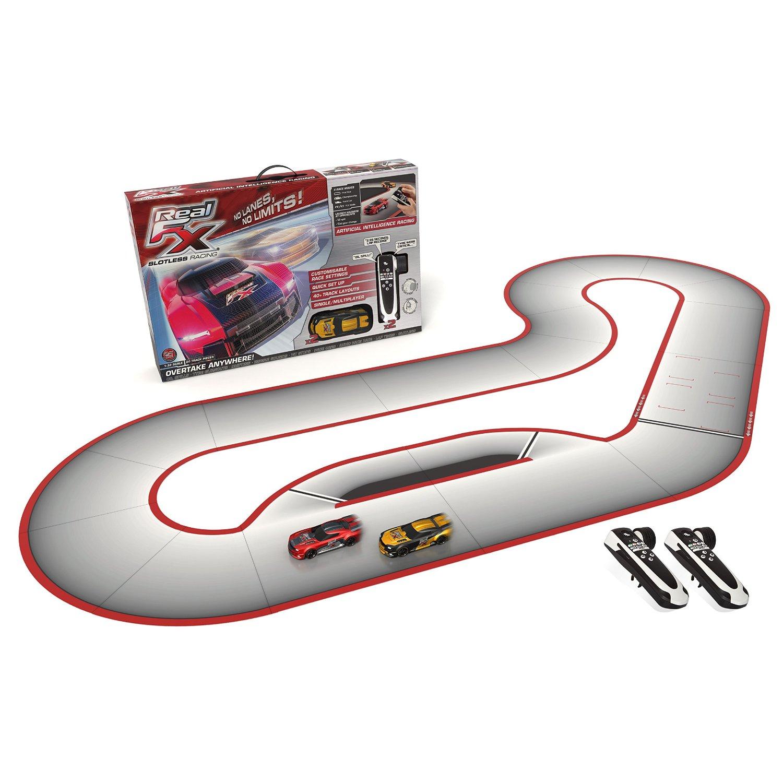 Real FX Autorennbahn - slotless racing - wieder da! [Amazon UK]