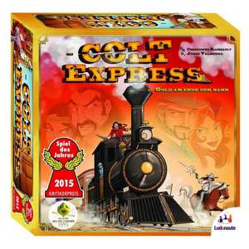 Spiel Colt Express + Erweiterung Postkutsche mit Pferden für 22,98€ bei Abholung @[ToysRUs] #BF2016
