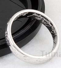 Der eine Ring um Sie alle zu knechten! (Herr der Ringe - Lord of the Rings) Ring mit Gravur (Stahl oder Titan) für 1.53€ @ Ebay oder 3.73€ @ Focalprice