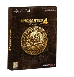 (Coolshop) Uncharted 4: A Thief's End – Special Edition (PS4) für 31,95