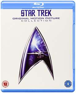 (Amazon.co.uk) Star Trek: Original Motion Picture Collection 1 - 6 (Blu-ray) für 22€