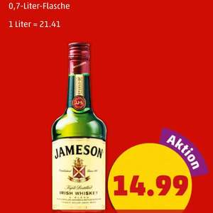 [PENNY] Jameson Irish Whiskey 0,7-Liter-Flasche