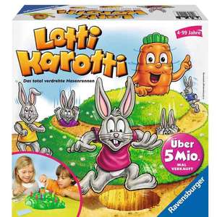 [Penny] Ravensburger Spiele, u.a. Lotti Karotti, Spiele 9,99-14,99€