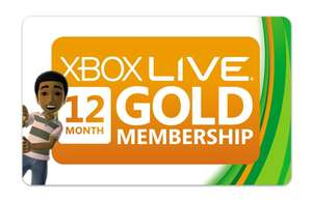 Xbox Live Gold - 12 Monate für 40€