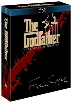 The Godfather Trilogie (4 Blurays inkl. Bonus-Disc) mit dt. Tonspur für 9,74€ inkl. Versand