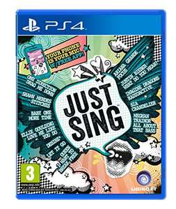 (Amazon.co.uk) Just Sing (PS4/Xbox One) für 17,30€