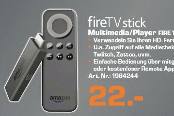 [Lokal Saturn Freiburg ab 24.11 und Neckarsulm ab 23.11] Amazon Fire TV Stickfür 22,-€ (Eventuell auch bald Bundesweit**Angabe ohne Gewähr**)