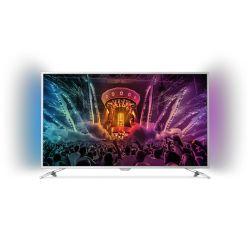 """Philips 4K 55PUS6501 139cm 55"""" UHD Android Fernseher mit 2-seitigem Ambilight"""