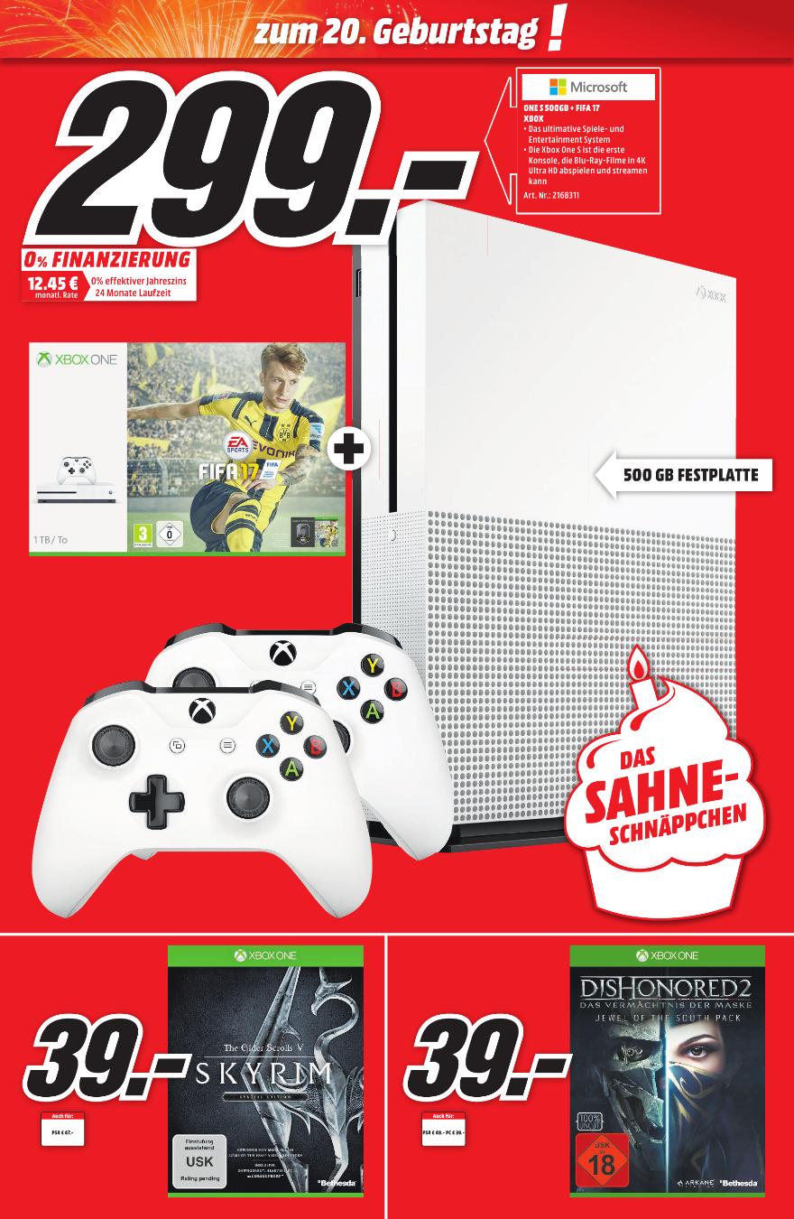 [Lokal Media Markt Aalen] Dishonored 2 Xbox One