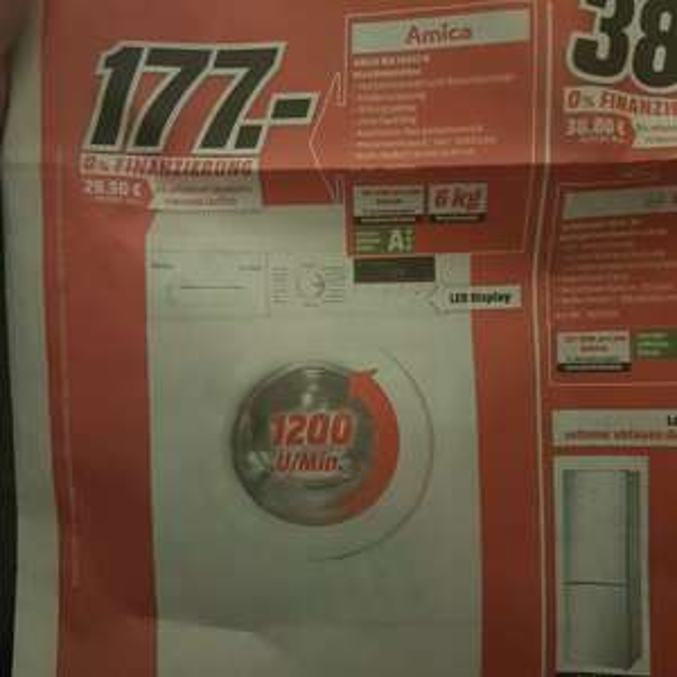 Waschmaschine Amica WA14653W lokal @ Mediamarkt Berlin