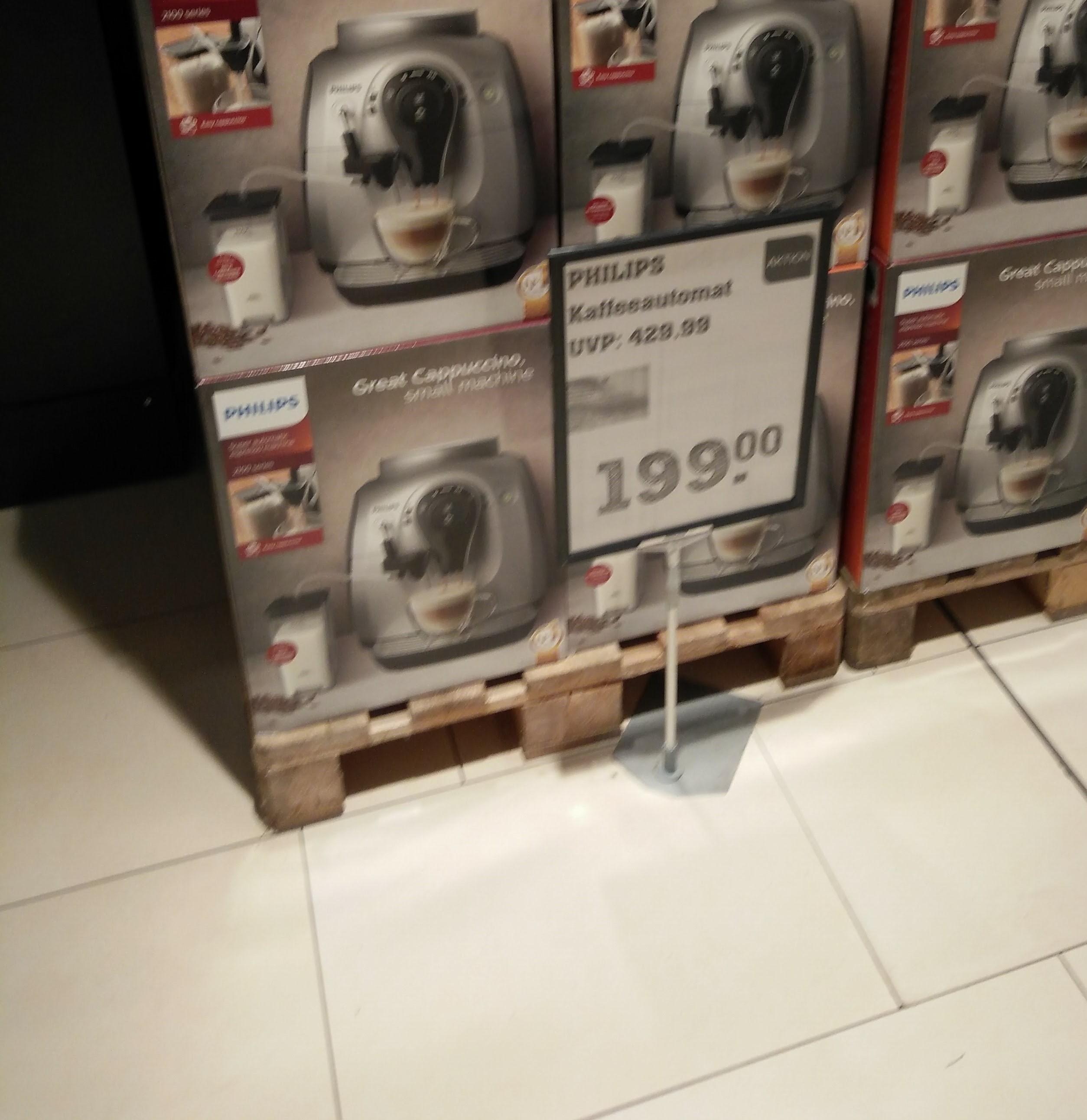 [ReweCenter HH-Altona]Philips Kaffeevollautomat HD 8652/91 mit externem Milchtank und intg. Aufschäumer