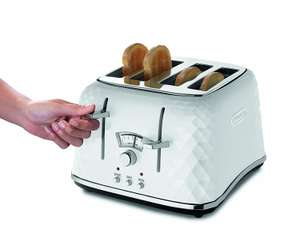 "De'longhi brillante 4 Schlitztoaster 42,39 (+ 4,83€ Adapter) als WHD ""Sehr gut"" Amazon.co.uk statt 82€ (UK Import, eBay)."
