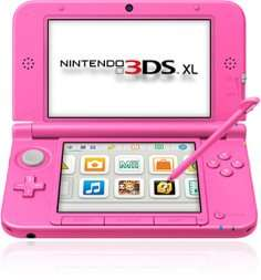 Nintendo 3DS XL in pink für 99,97€ [Amazon]