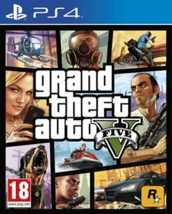 Grand theft Auto V (PS4/XBOX) + 2,5million $ (UK)
