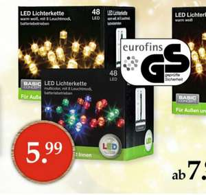 Woolworth Filialen: LED Lichterkette (GS geprüft)