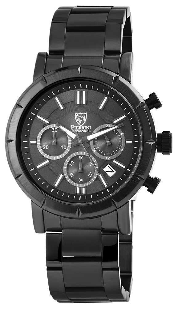 Pierrini Herren Chronograph Armbanduhr