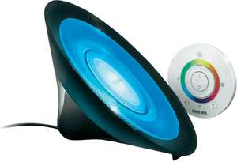 Philips LivingColors Aura (schwarz oder weiß) (8W, Fernbedienung, Hue-kompatibel) für 39,99€ [Digitalo]