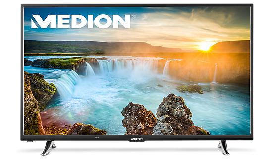 "[Medion] Smart-TV MEDION® LIFE® X18061 (MD 31110) 125,7 cm (50"") TV, Full HD, Triple Tuner mit DVB-T2 HD, 600 CMP, WLAN integriert + 4% shoop"