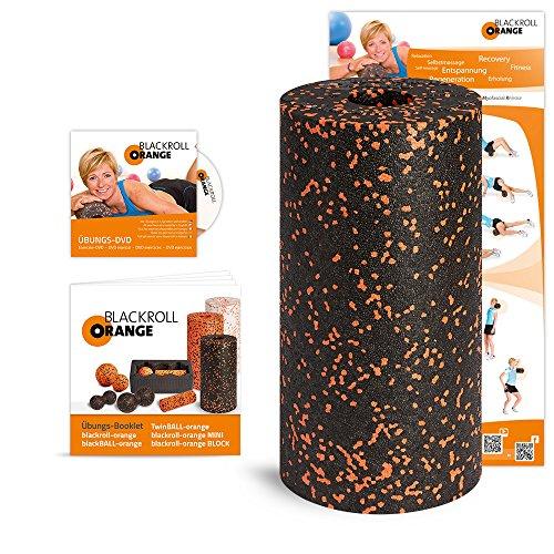 Blackroll Orange inkl. DVD, Poster und Booklet für 20,99 € [Amazon Tagesangebot]