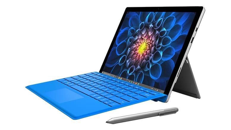 Microsoft Surface Pro 4 + Type Cover (QWERTY) ab 701,62€ [Microsoft Store UK]