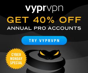 1 Jahr VyprVPN Pro für 48€ - Black Friday Angebot