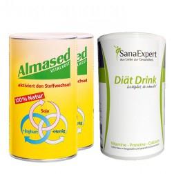 Almased + fettbinder Intensivkapseln
