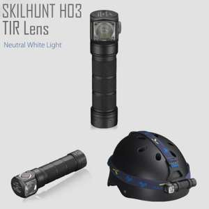 [Gearbest] Skilhunt H03 - Neutral White (Stirnlampe)