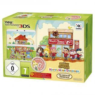 ?Nintendo New 3DS mit Animal Crossing: Happy Home Designer Pack + Netzteil für 127€bei Redcoon @bf2016
