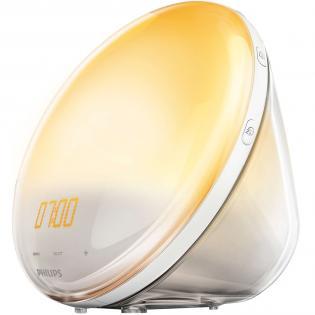 [Redcoon] Philips HF3531/01 Wake-Up Light (Sonnenaufgangfunktion, Touchdisplay, 7 Wecktöne, digitales FM Radio, Tageslichtwecker)