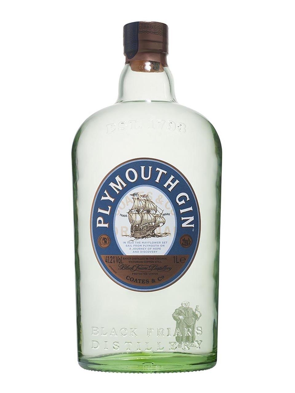 [heinemann-shop.com] Gin Liebhaber aufgepasst Plymouth Gin 41.2% 1L