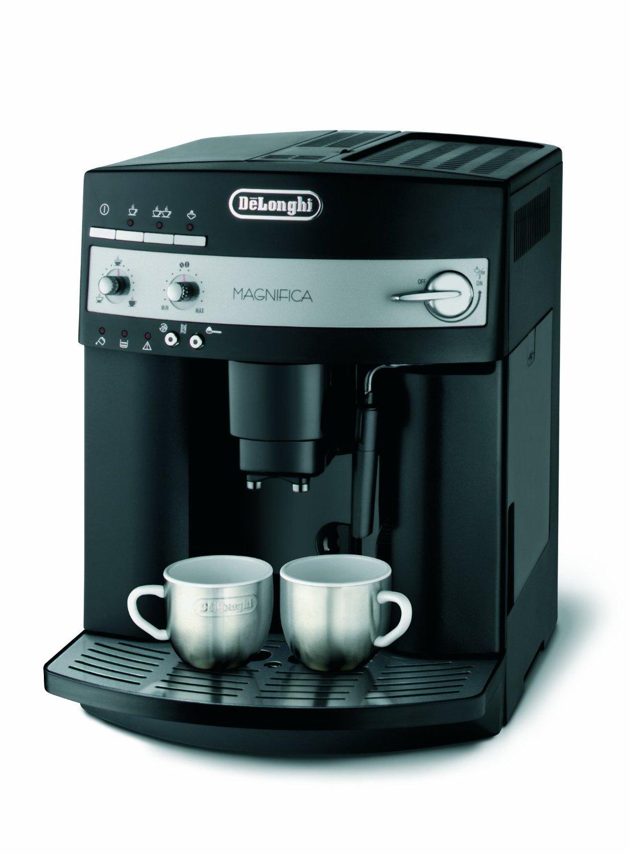 DeLonghi ESAM 3000.B Kaffee-Vollautomat (1100 Watt, 1,8 Liter, 15 bar, Dampfdüse, Edelstahl) schwarz für 235,99€ @Amazon.de Blitzangebot