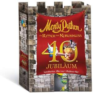 Monty Python - Die Ritter der Kokosnuss (Anniversary Edition Specialty Box) (Bluray) für 15,97€ [Amazon Prime]