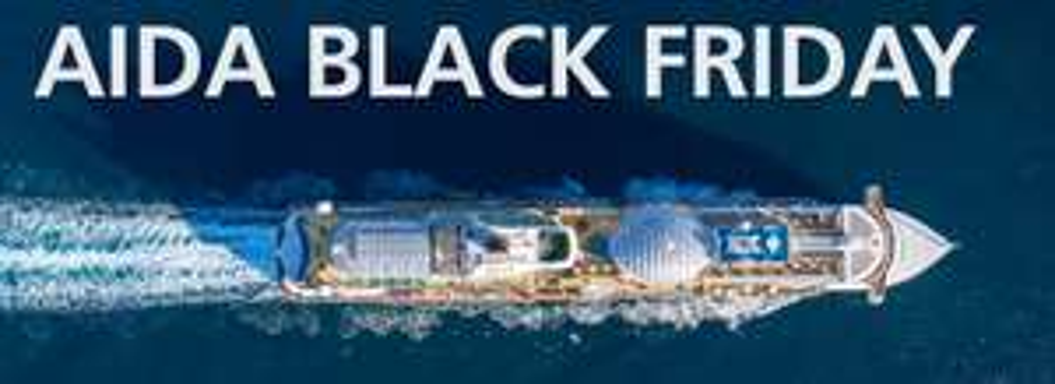 Black Friday Angebote AIDA Cruises ab 449 €