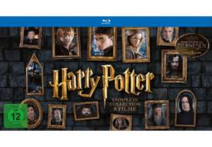 [MM] Harry Potter - The Complete Collection (Layflat Book) [Blu-ray] für 34 €