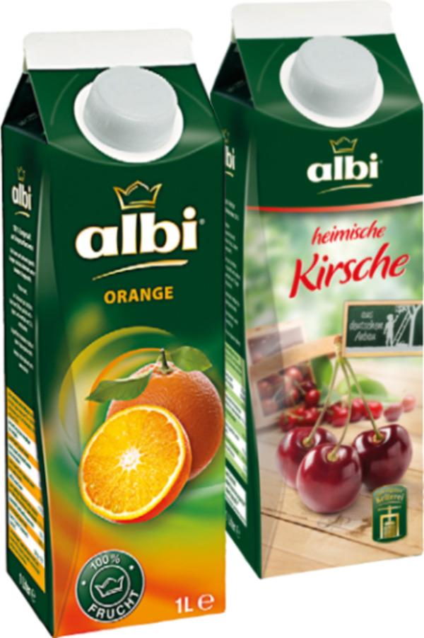 [Edeka Offline] Albi Fruchtsaft oder Nektar 1L
