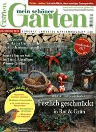 Mein schöner Garten Magazin im Jahresabo (12 Ausgaben) für 48€ mit 35€ Amazon-Gutschein