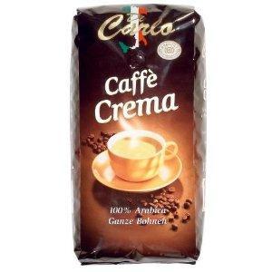 Di Carlo Caffe Crema Ganze Bohne, 4er Pack (4 x 1000 g Beutel) EUR 32,27 inkl. Versand @amazon