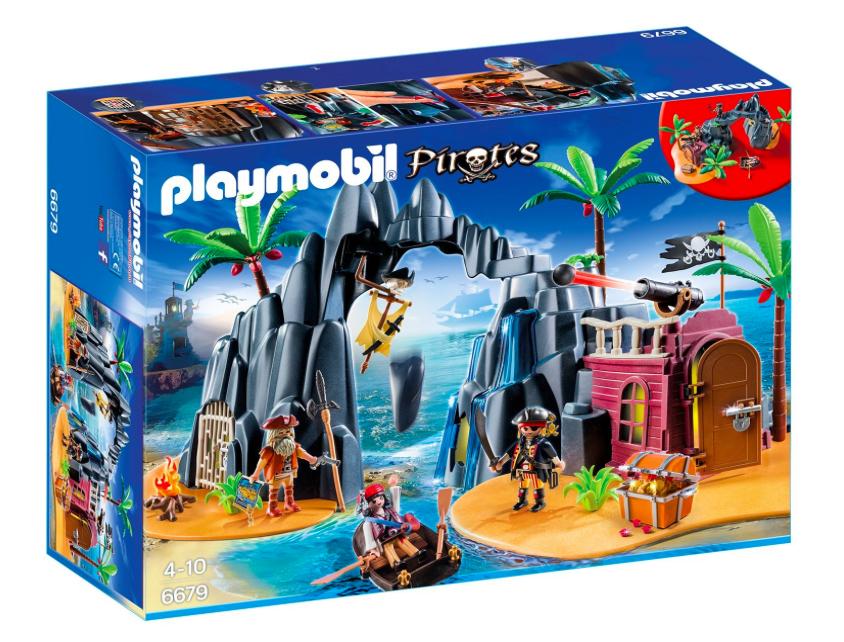 Playmobil Piraten-Schatzinsel 6679 für 25€ für [Amazon Prime Mitglieder] statt ca. 36€