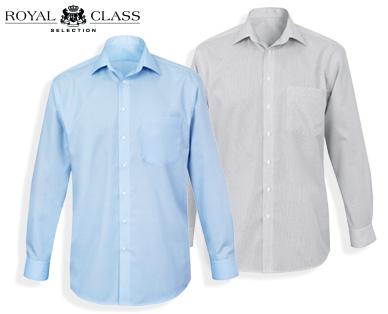 (Erinnerung) Einfarbige Hemden, langärmlig bei Aldi-Süd - regular, modern oder Body-Fit (Ab Donnerstag)